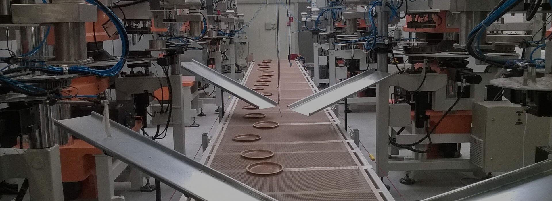Linia produkcyjna firmy Rotor
